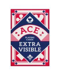 ACE Spielkarten extra sichtbar rot