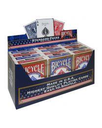 Bicycle 808 Gold USA 12er Pack Spielkarten