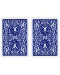 Bicycle Karten Doppelrücken blau
