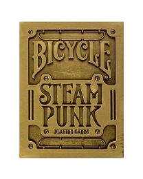 Bicycle Steampunk Playing Cards Gold