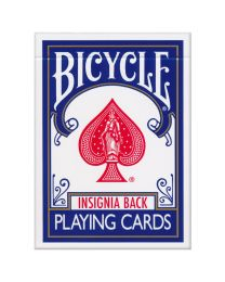 Bicycle Insignia Back Karten blau