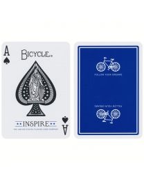 Bicycle Inspire Spielkarten blau