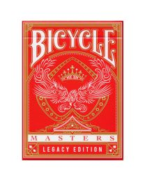 Spielkarten Bicycle Legacy Masters rot