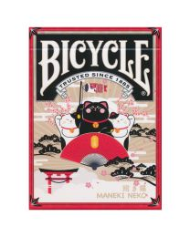 Bicycle Maneki Neko Spielkarten rot