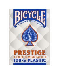 Bicycle Prestige Poker Spielkarten Plastik blau