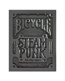 Bicycle Silber Steampunk Spielkarten