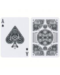 Bicycle Silber Steampunk Spielkarten
