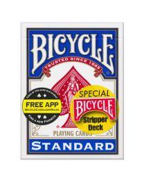 Bicycle Stripper Deck blau