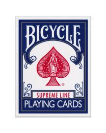 Bicycle Supreme Line Spielkarten blau