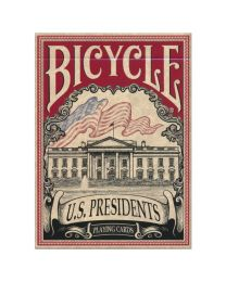 Bicycle U.S. Presidents Spielkarten rot
