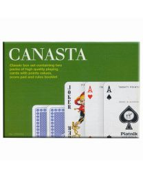 Canasta Spielkarten Doppeldeck Piatnik