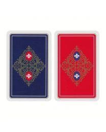 Canasta Spielkarten Leinen Finish