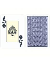 Casino Spielkarten Plastik Cartamundi blau