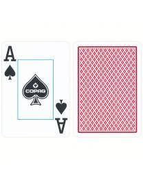 COPAG Spielkarten 2 Jumbo Eckzeichen rot