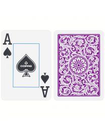 COPAG Plastik Spielkarten Doppeldeck Lila & Grau