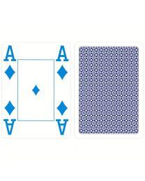 COPAG Kunststoff Spielkarten 4 Farbe blau