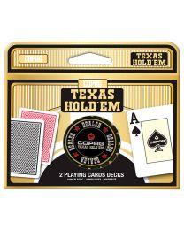 COPAG Texas Hold'em 2 Spielkarten Decks