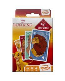 Disney The Lion King 4 in 1 Kartenspiel