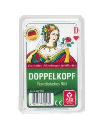 Doppelkopf französisches Bild Spielkarten ASS Altenburger