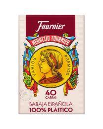 Fournier 40 Karten Spanisches Deck 100% Plastik