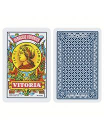 Fournier 50 Karten Spanisches Kartenspiel 100% Kunststoff