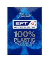 Fournier EPT Profi Poker Spielkarten blau