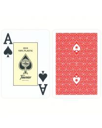 Fournier EPT Profi Poker Spielkarten rot