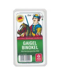 Gaigel/Binokel Spielkarten württembergisches Bild ASS Altenburger