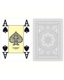 Modiano Karten Poker Cristallo 4 Eckzeichen grau