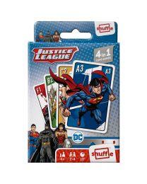 Justice League 4 in 1 Kartenspiele