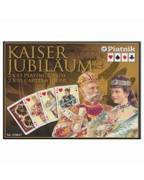 Kaiser Jubiläum Spielkarten Piatnik