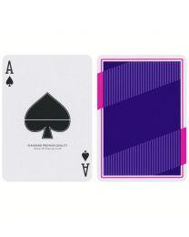 NOC 3000X2 Spielkarten lila Ausgabe