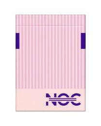 Limitierte Auflage NOC3000X2 rosa Spielkarten