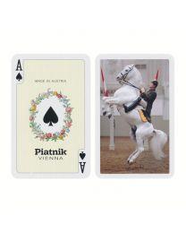 Piatnik Bridge Size Spielkarten Lipizzaner