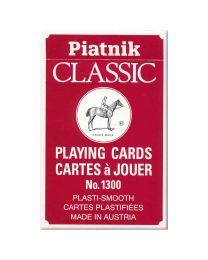 Piatnik Classic Spielkarten rot