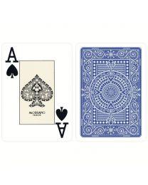 Plastik Spielkarten Modiano Texas Poker blau