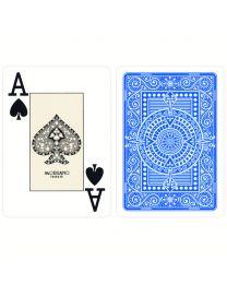 Plastik Spielkarten Modiano Texas Poker hellblau