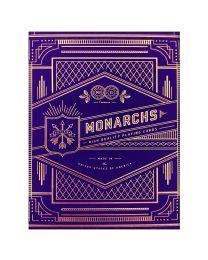 Purple Monarch Spielkarten