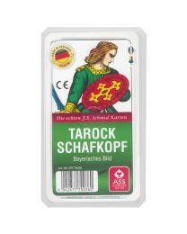 Tarock Schafkopf bayerisches Bild Spielkarten ASS Altenburger