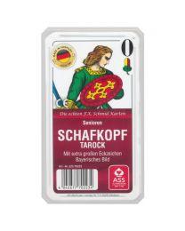 Senioren Schafkopf Tarock Spielkarten bayerisches Bild ASS Altenburger