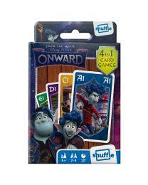 Disney Pixar Onward 4 in 1 Karten Spiele