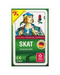 Skatkarten ASS Altenburger deutsches Bild in Faltschachtel