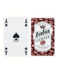 Spielkarten mit Werbung