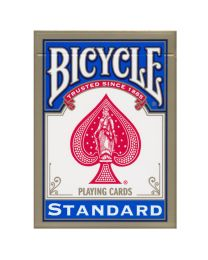 Bicycle 808 Rider Back Standard Spielkarten Blau