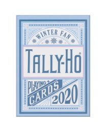Tally-Ho Winter Fan Back Spielkarten 2020