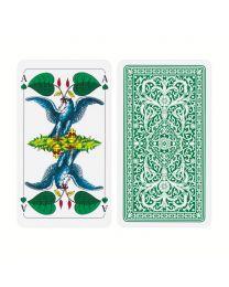 Tarock Schafkopf fränkisches Bild Spielkarten ASS Altenburger