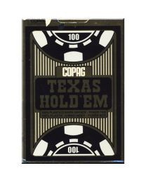 COPAG Karten Texas Hold'Em Gold Jumbo Index blau