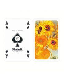 Van Gogh Sonnenblumen Spielkarten Piatnik