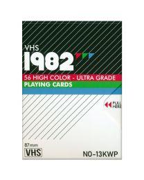 VHS 1982 Standard Spielkarten