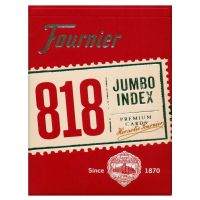 Fournier Poker 818 Jumbo Index Premium Karten rot